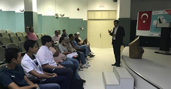 Dean, International Campus, Iran University of Medical Sciences met the first students of the Faculty of Dentistry